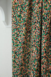 ATELIER JUPE SMALL COLOURFUL PRINT VISCOSE FABRIC