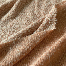Load image into Gallery viewer, DUSTY PINK SLUB KNITTED FABRIC