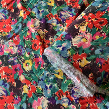 Load image into Gallery viewer, MADISON FLORAL VISCOSE TWILL
