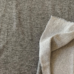 GREY FRENCH TERRY SWEATSHIRTING