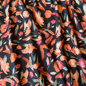 MIDNIGHT FLORAL VISCOSE JERSEY