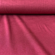 Load image into Gallery viewer, LIGHTWEIGHT VISCOSE JERSEY IN BORDEAUX