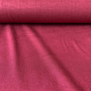 LIGHTWEIGHT VISCOSE JERSEY IN BORDEAUX