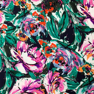 LADY MCELROY ALEXANDRA VIRGINIA VISCOSE CHALLIS LAWN FABRIC