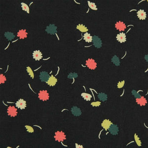DANCING DAISIES VISCOSE LAWN BY FABRIC GODMOTHER
