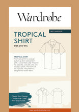 Load image into Gallery viewer, WARDROBE BY ME MENS TROPICAL SHIRT