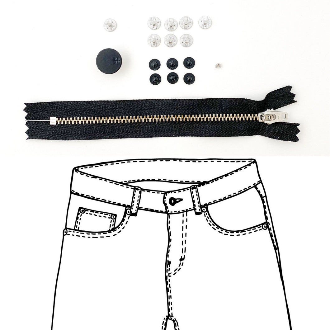 KYLIE AND THE MACHINE BLACK JEANS REFILL KIT