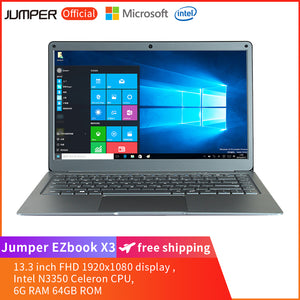 Jumper EZbook X3  13.3 inch Laptop - Grey