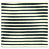 wholesale black and white striped napkin