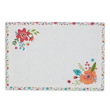 wholesale floral printed placemat