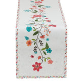 wholesale floral table runner