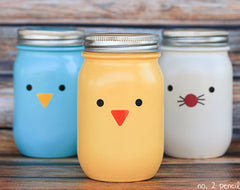 DIY Easter Mason Jar Craft