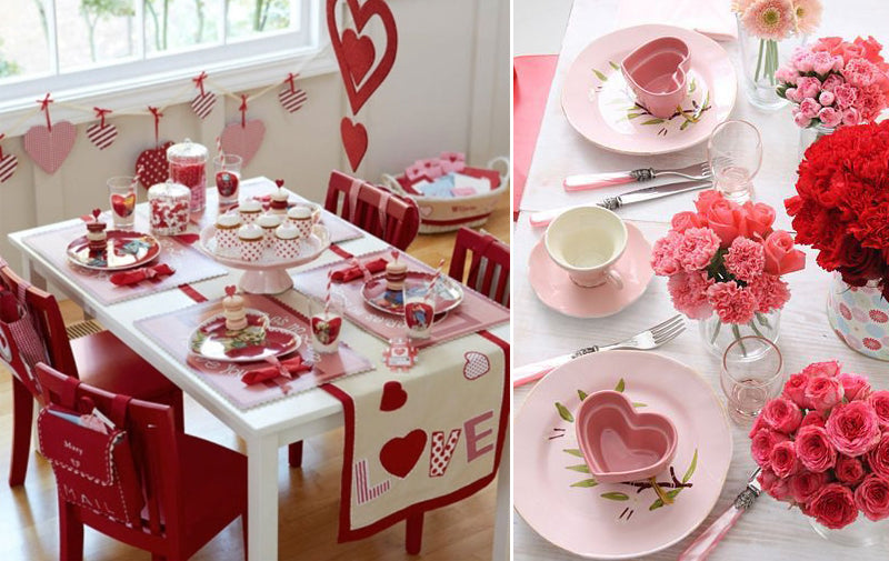 Valentine's Day Table Top for Kids