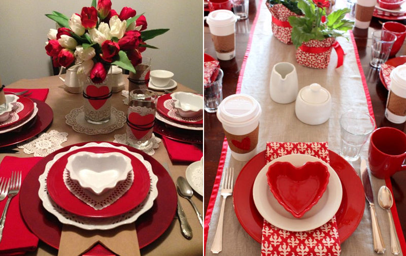 Classic Valentine's Day Tabletop Inspiration