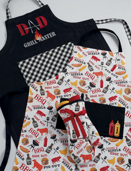 Wholesale - BBQ Oven Mitt Gift Set - DII Design Imports - 2