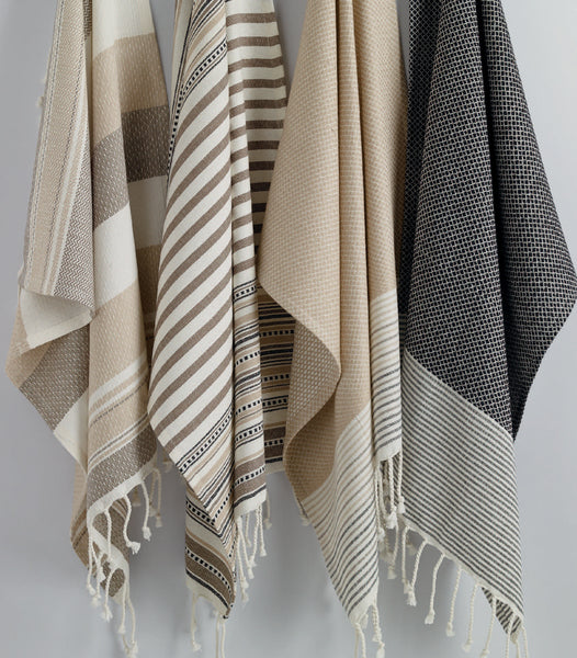 Wholesale - Natural Texture Fouta Kitchen Towel - DII Design Imports - 3