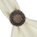 Wholesale Harvest Sunflower Napkin Ring - DII Design Imports