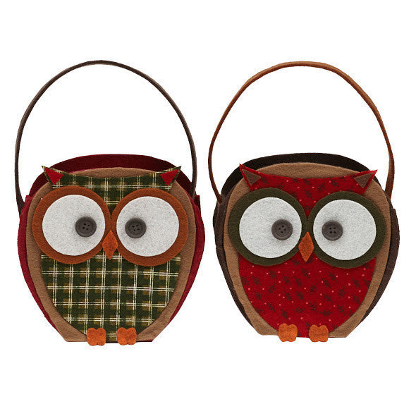 Wholesale Owl Gift Bags - Set of 2 - DII Design Imports