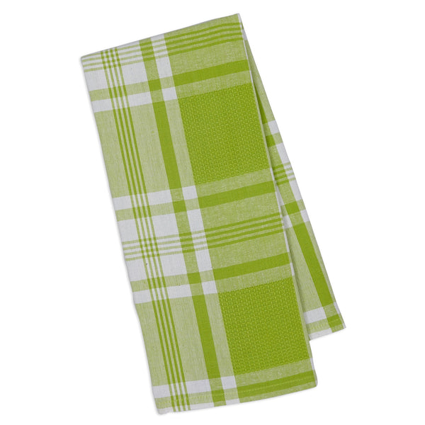 Lime Pop Kitchen Window Dishtowel - DII Design Imports