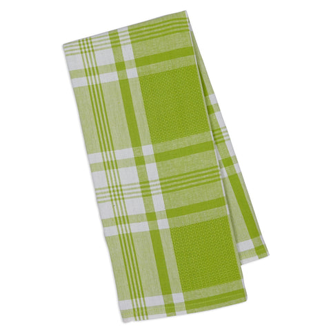 Wholesale - Lime Pop Kitchen Window Dishtowel - DII Design Imports - 1