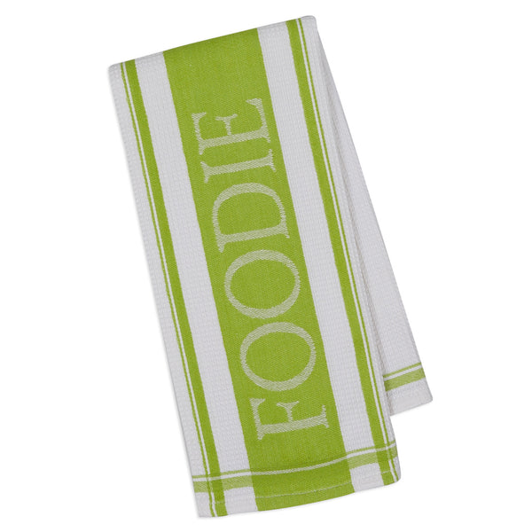 Wholesale - Lime Pop Foodie Jacquard Dishtowel - DII Design Imports - 1