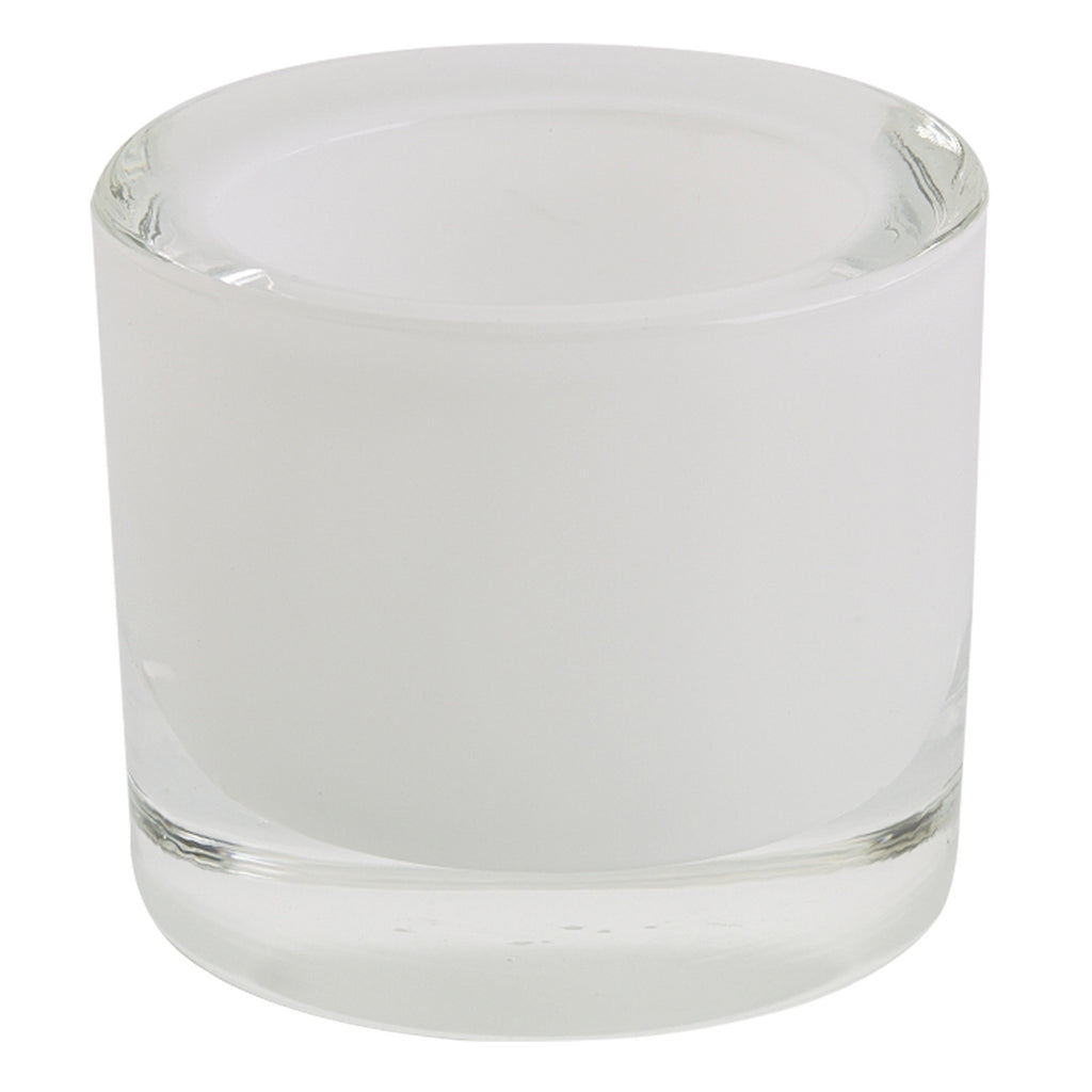 Wholesale White Glass Candle Holder - DII Design Imports