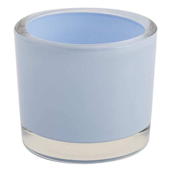 Wholesale Baby Blue Glass Candle Holder - DII Design Imports