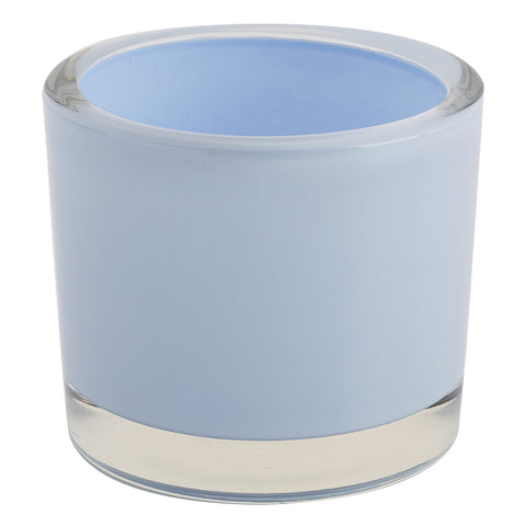 Wholesale - Baby Blue Glass Candle Holder - DII Design Imports - 1