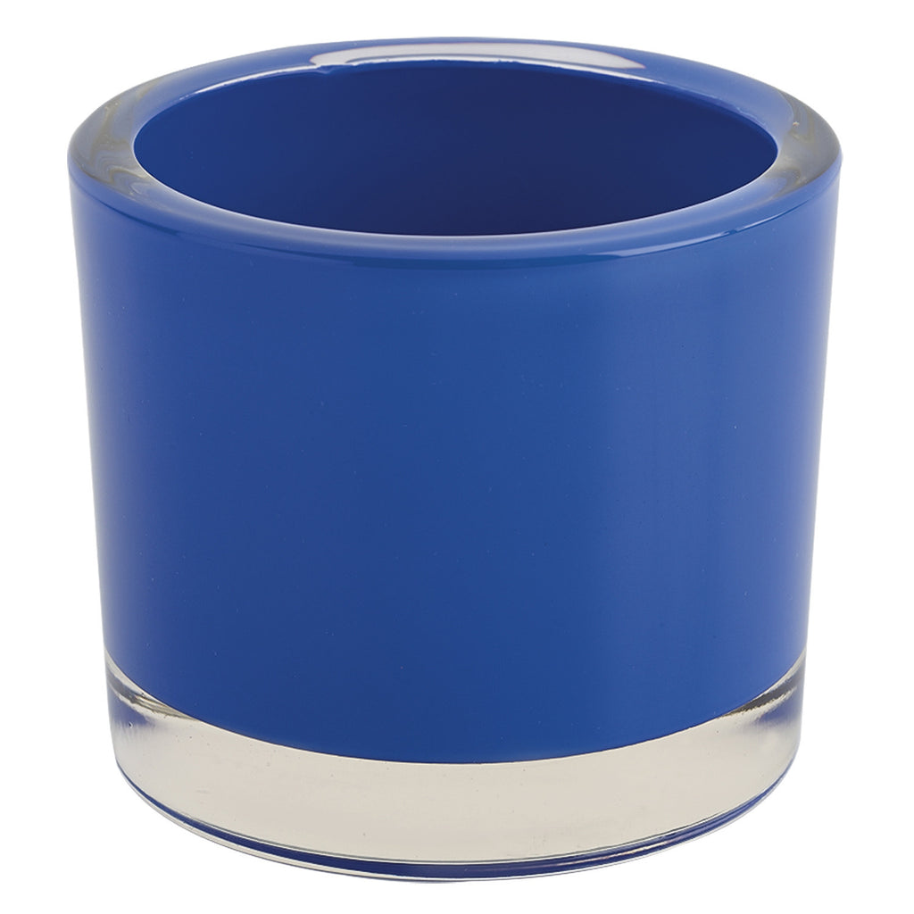 Cobalt Glass Candle Holder - DII Design Imports