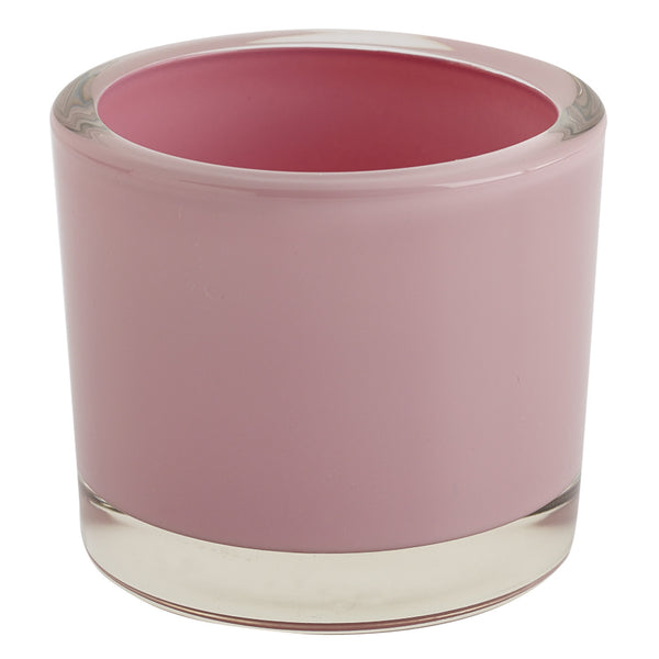 Wholesale - Pink Glass Candle Holder - DII Design Imports - 1
