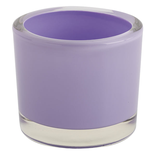 Lavender Glass Candle Holder - DII Design Imports