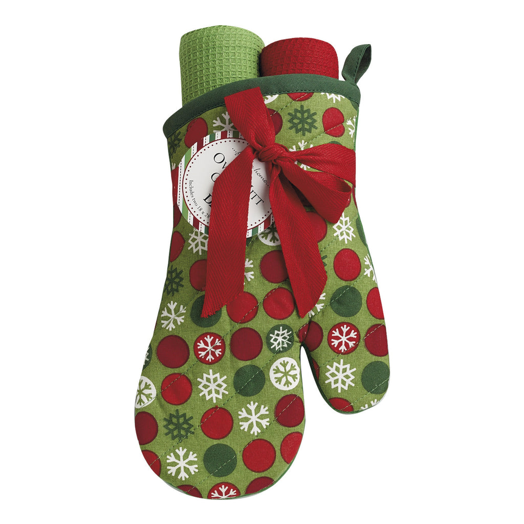 Snowflake Dots Gift Set - DII Design Imports