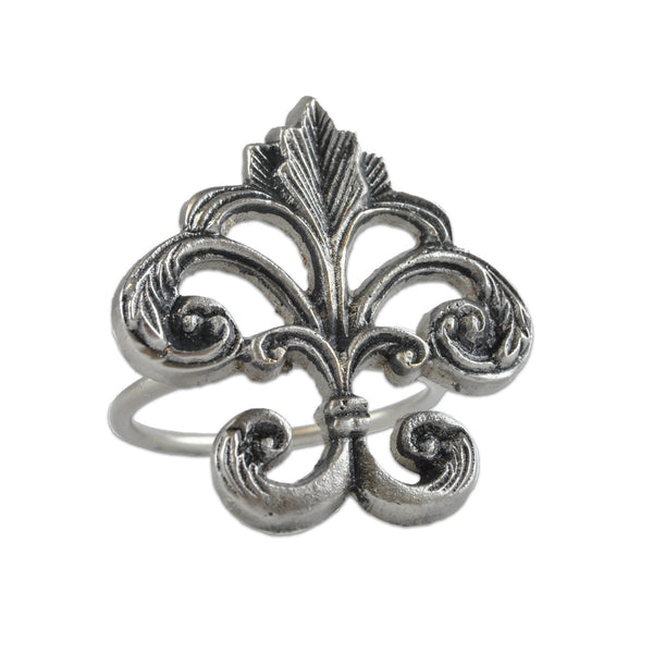 Wholesale - Fleur De Lis Napkin Ring - DII Design Imports - 1
