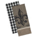 Wholesale Fleur De Lis Dishtowel - Set of 2 - DII Design Imports