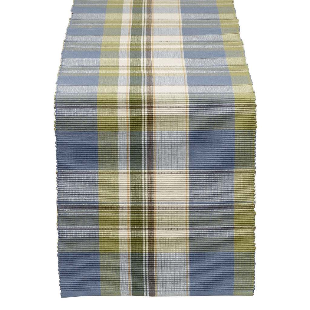 Wholesale Lake House Plaid Table Runner - DII Design Imports