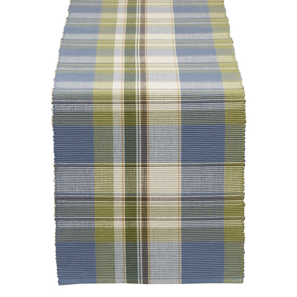 Wholesale - Lake House Plaid Table Runner - DII Design Imports - 1