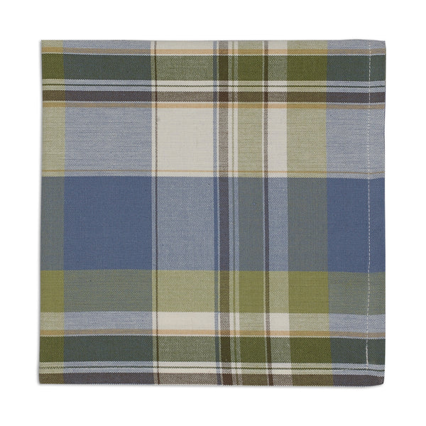 Wholesale - Lake House Plaid Napkin - DII Design Imports - 1