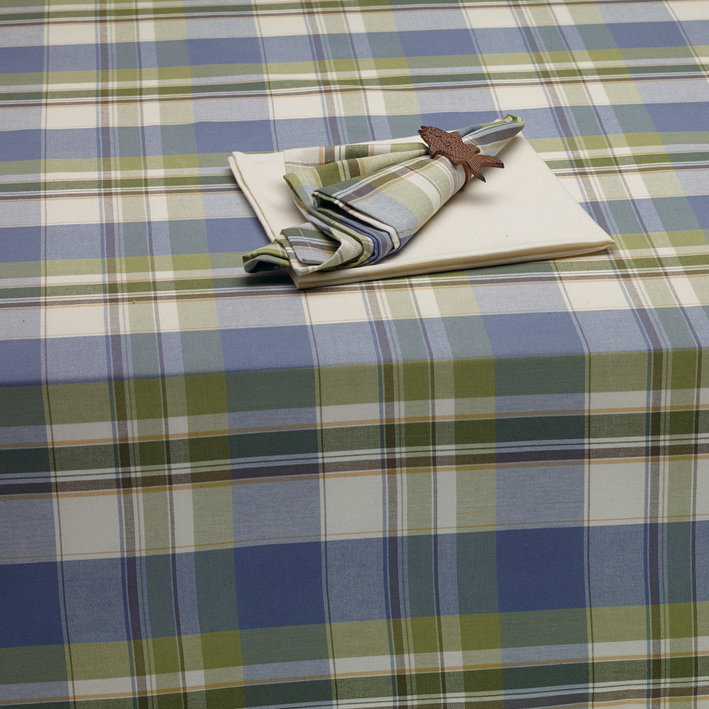 Wholesale Lake House Plaid Tablecloth - DII Design Imports