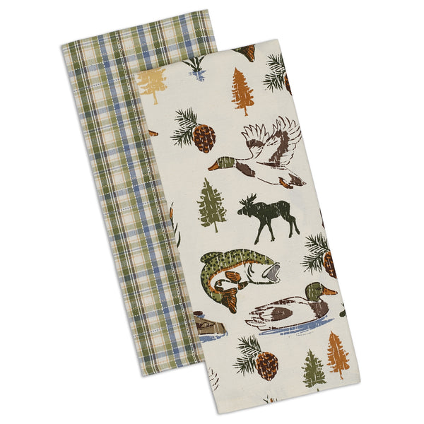 Wholesale - Lakewood Dishtowel - Set of 2 - DII Design Imports - 1