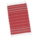 Wholesale - Ribbon Red Fouta Kitchen Towel - DII Design Imports - 2