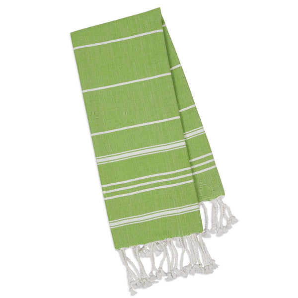 Wholesale - Green Apple Fouta Kitchen Towel - DII Design Imports - 1