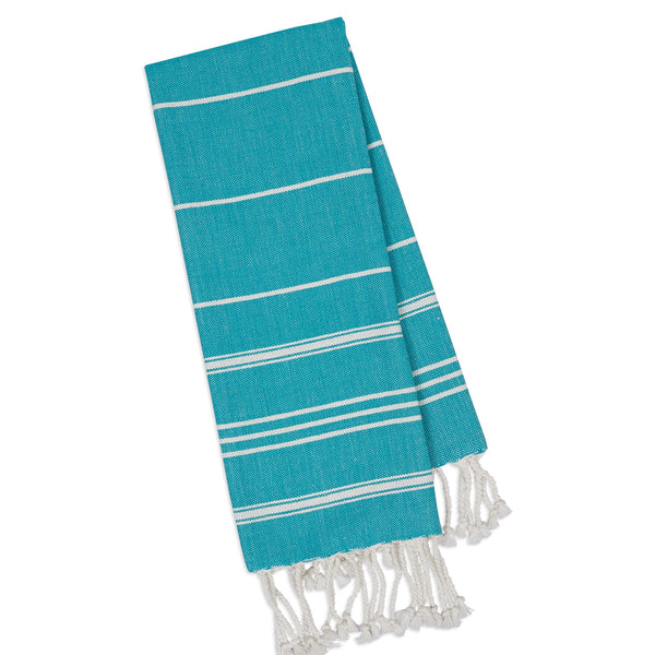 Wholesale - Cozumel Blue Fouta Kitchen Towel - DII Design Imports - 1