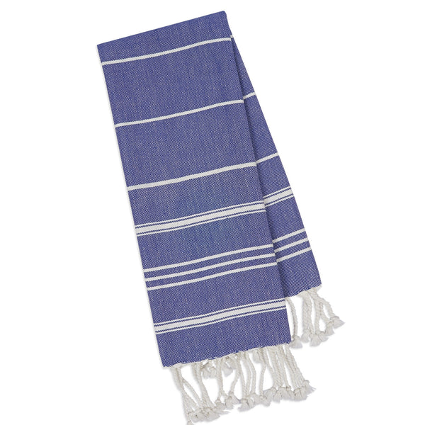 Wholesale - Indigo Fouta Kitchen Towel - DII Design Imports - 1