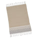 Wholesale Taupe Diamond Fouta Kitchen Towel - DII Design Imports