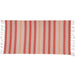 Coral Stripe Fouta Towel/Throw - DII Design Imports