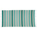Aqua Stripe Fouta Towel/Throw - DII Design Imports