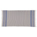 Wholesale - Indigo Stripe Fouta Towel/Throw - DII Design Imports - 2