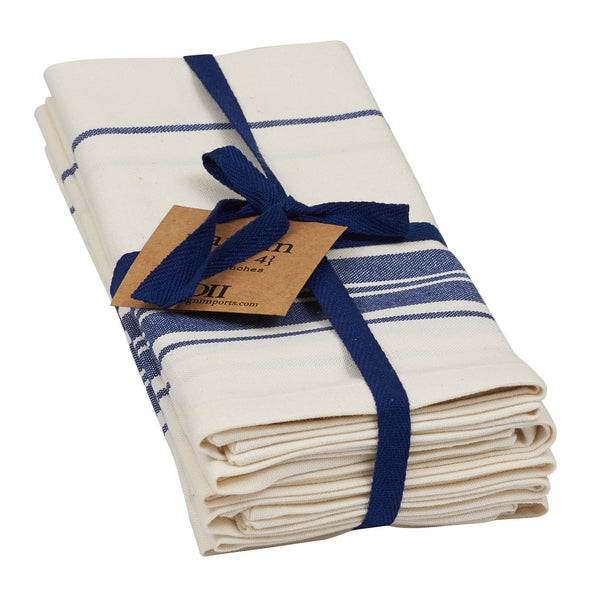 Farm Fresh Stripe Napkin - Set of 4 - DII Design Imports