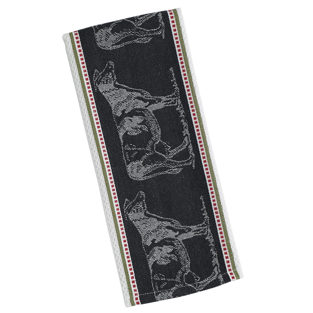 Wholesale - Cow Jacquard Dishtowel - DII Design Imports