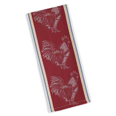 Wholesale - Rooster Jacquard Dishtowel - DII Design Imports